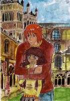 Hermione and Ron by My-Sin-Is-You