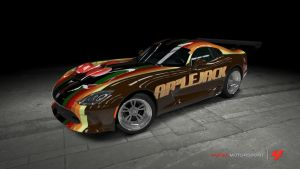 2013 Dodge Viper by SillyMewse