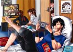 Basara Party - The Gaming by SylphinaEdenhart