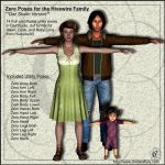 COF Zero Poses for the Hivewire Family (DS Version by Childe-Of-Fyre