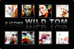 Icons: 8 Wild Tom by DarknessEndless