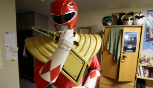 RED RANGER WITH DRAGON SHIELD by KellHiro