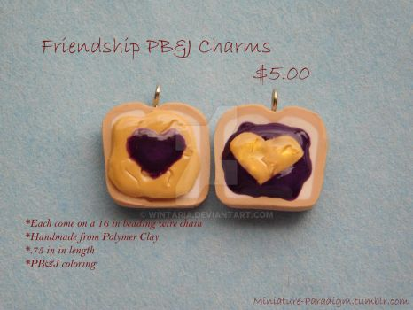 PB and J BFF Charms by Wintaria