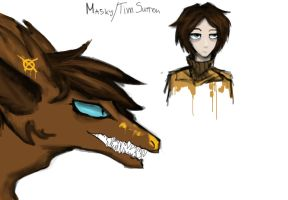 DRAGONPASTA: Masky by Lady-Holdren