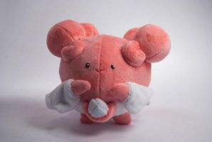 Chibi Blissey Pokemon Plush by SeamsLegit