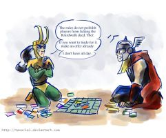 This Is Why We Never Hang Out, Loki by Tavoriel
