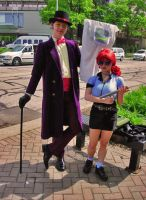 ACEN 2010 Superjail Cosplay by videolizzard99