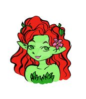 AmeComi Poison Ivy by ImaginaryFox