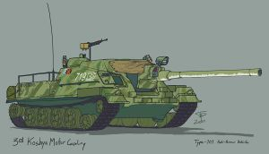 Type 101 Tank Destroyer by Pyrosity