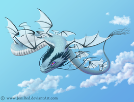 Aeolua: Dragon of Air by JeniRed