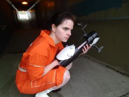 Chell 2 by Angelic-Obscura