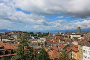 View of Lausanne by ersori007