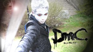 At the Con DmC Hollow Vergil Cosplay by dinobot2000