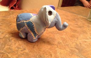 Patchwork. Elephant 2/2 by Mattie-L