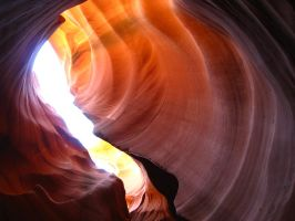 Antelope Canyon by Haufschild