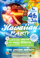 Hawaiian Party  Flyer by DeityDesignz