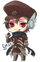 Commission :  JD Chibi by Chiechu