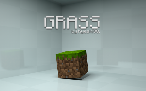 Minecraft - Grass by flamingpegasus