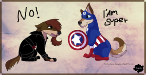 Captain Ray and Black Doty! by dotydev
