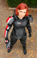 FemShep is watching you by LadyTenebraeTabris