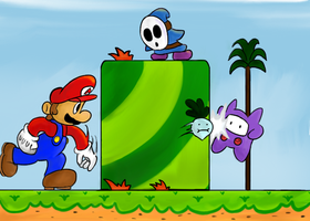Super Mario 2 by sean2543