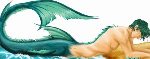 Merman Progress by Faerytale-Wings
