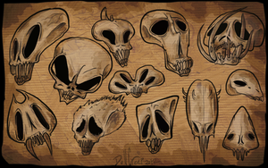 skullsskulls by DollCreep