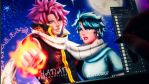 Preview Natsu and Sarah by Catstudio7