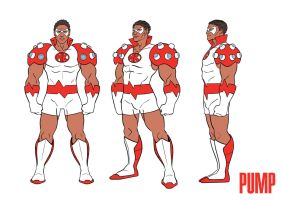 PUMP: Medikidz Character Turnaround by RDComics