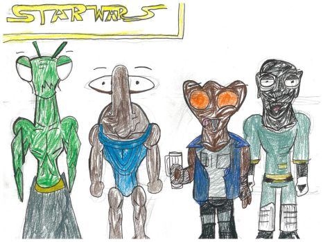Cantina Goers batch 1 by Xenotoonz9f
