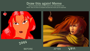 Aandina- Draw This Again Meme by dusk-hopper