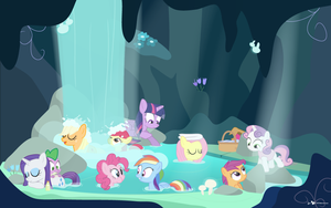 The Secret Cavern by dm29