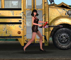Juliet Rockabilly 2 by tombraider4ever