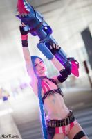 Ae as Jinx from league of Legends by AE-cosplay