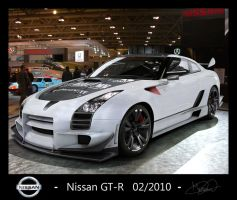 Nissan GT-R Ridge Racer kit by GrantMaxok