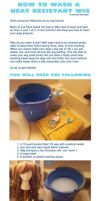How to Wash a Heat Resistant Wig by MoogleGurl