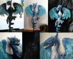 Blue Dragon Tree Topper by Shadowind