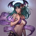 Morrigan, by tsuaii by Antsstyle