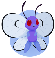 BUTTERFREE! by TheRetroArtist