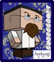 Jamie Hyneman Cubeecraft by angelyques