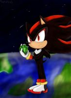 Shadow the Hedgehog by RedFirefly-x3
