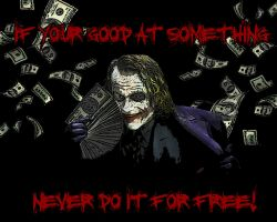 Joker money by quintajo
