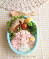 Little Twin Stars, Lala Bento lunch box by loveewa