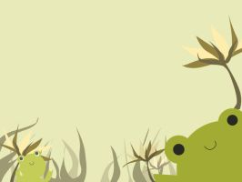 Froggy background by StRaWbeRry-BuNii03