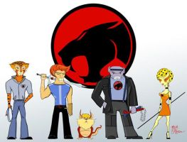 The Thundercats by whysoawesome