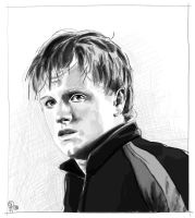 The hunger games_Peeta Mellark by joanap