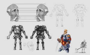hammerKNIGHT concept1 by steamgray