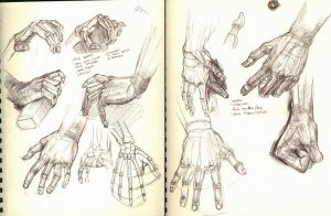 Hand sketches by Ezekiel-Black