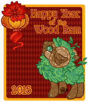 Happy Chinese New Year! by Sharkysaur