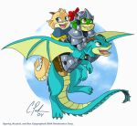 Sparky Krystal and Rex by Candy-Janney
